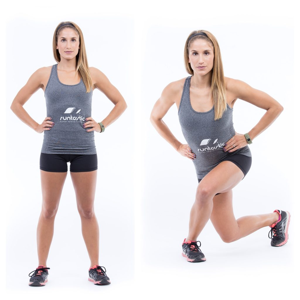 Cross-Behind-Lunges