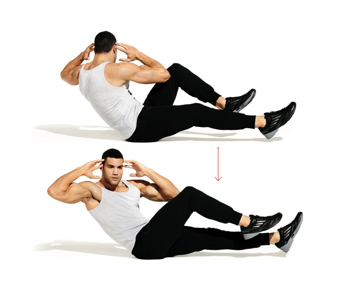 Seated-Bicycle-crunch