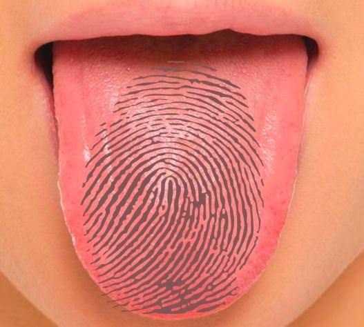 Tongue-print
