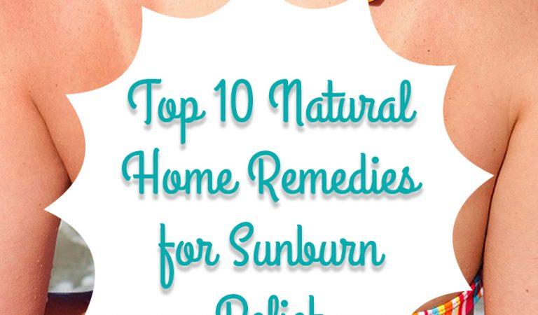 10 home remedies to treat sunburn