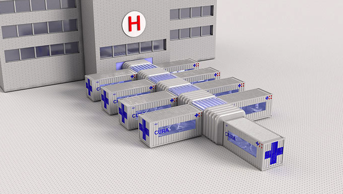 Italy Designed an Emergency Medical Facility Out of Containers